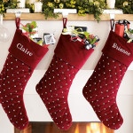 35 Cool Christmas Stocking Decoration Ideas