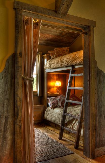 Bedroom Bunks with Ladder
