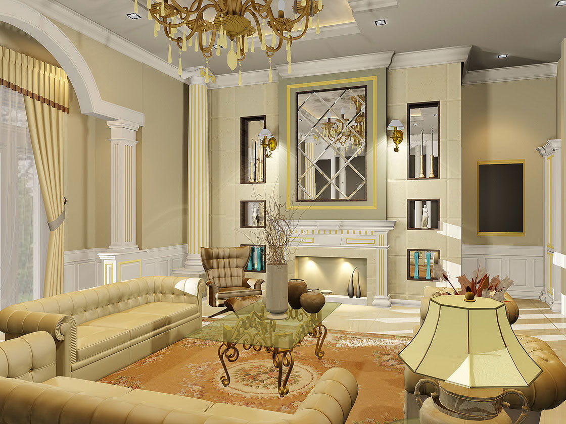 Elegant living room (20)