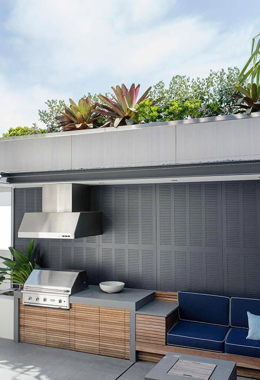 bbq and retractable ceiling