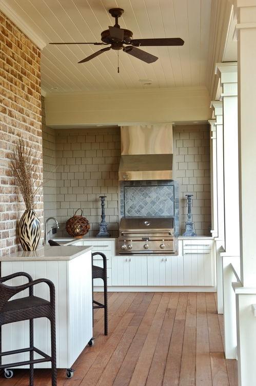 best outdoor kitchen design