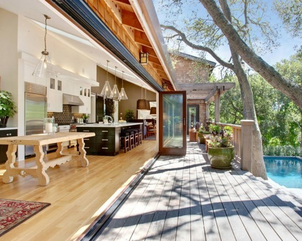 outdoor-kitchen-ideas-with-swimming-pool-design