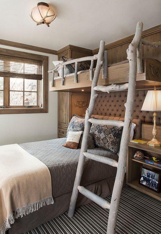 unique rustic bedroom