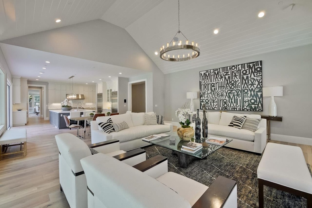 Contemporary Living Room with Casual Collection