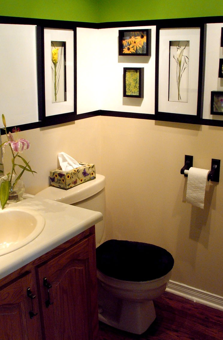 Exciting Design For Small Bathroom