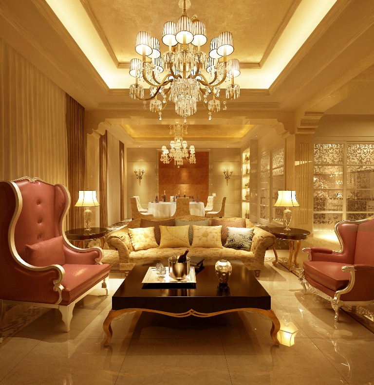 Luxury Living Room Furniture Design