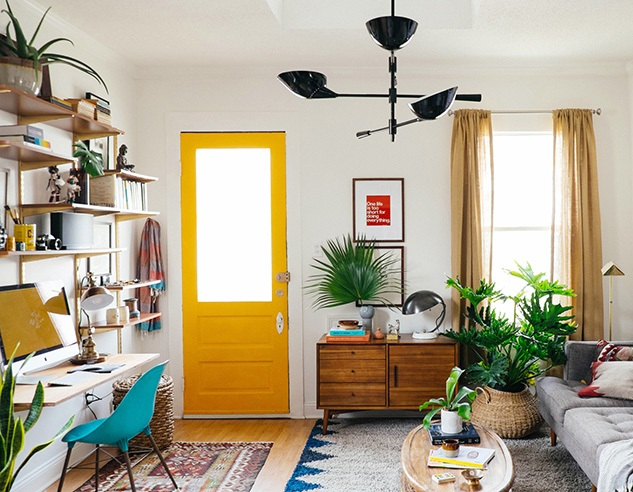 Awesome small living room transformation