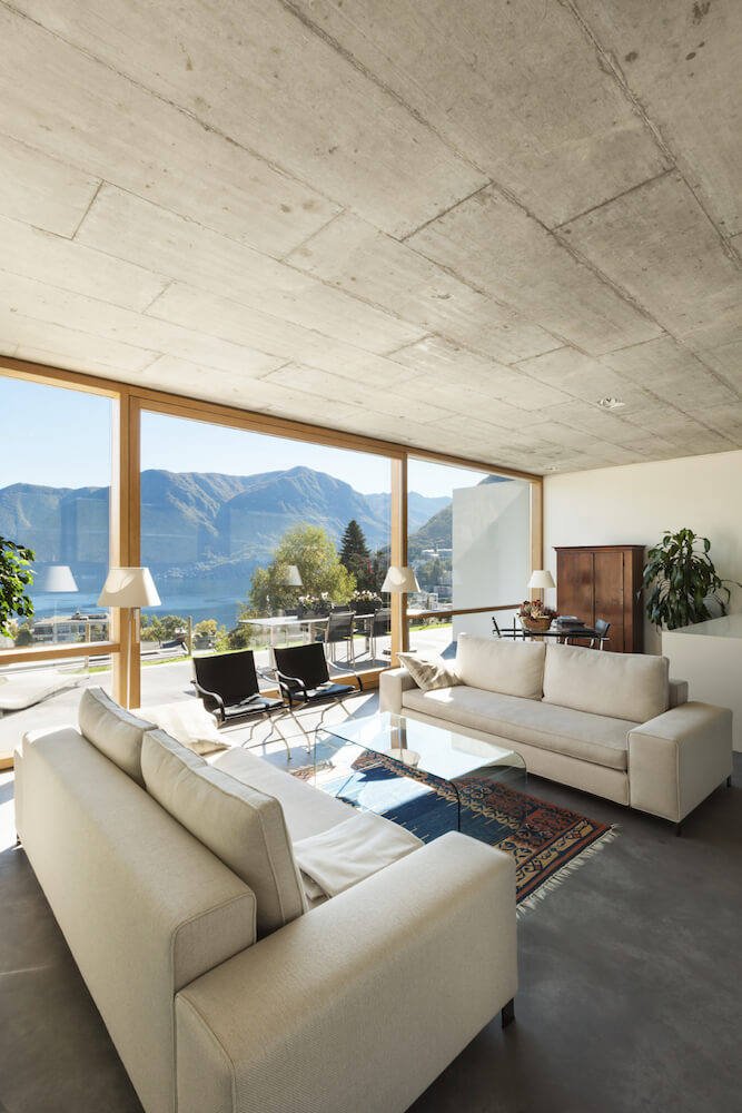 Living-Room-Decor-Ideas-Ceilings-Cement
