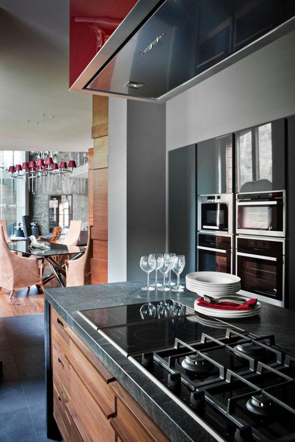 sleek-kitchen-granite-countertop-modern-house-near-moscow