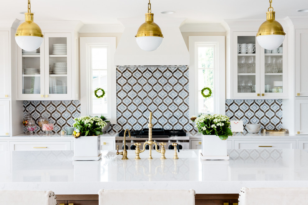 Contemporary Kitchen Dining Area0