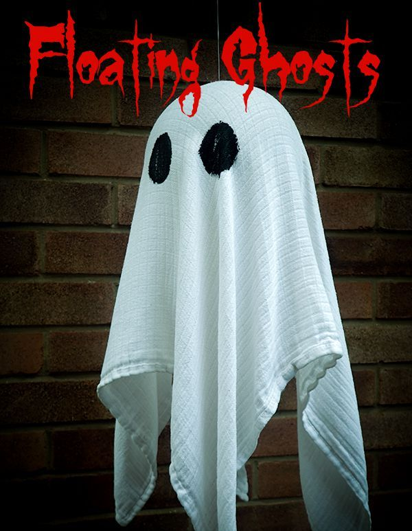 Floating Ghost Halloween Decoration