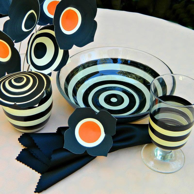 Halloween Beetlejuice Dinner Table
