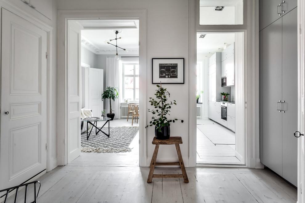 Scandinavian Hallway