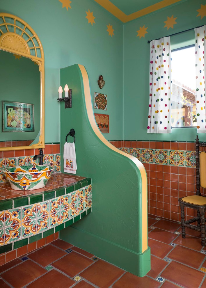 Southwestern Bathroom Design
