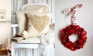 41 Fresh Shabby Chic Valentine's Decorations
