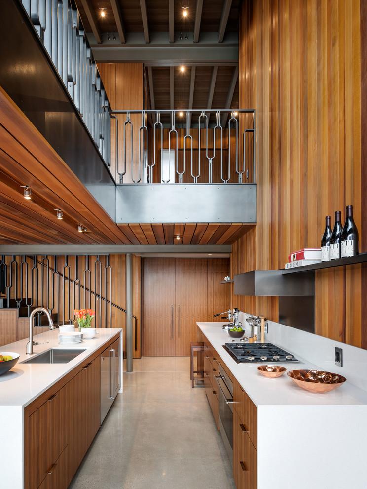 Midcentury Galley Kitchen