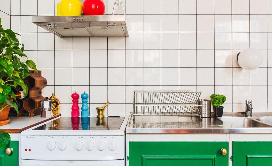 Small Midcentury Style Kitchen