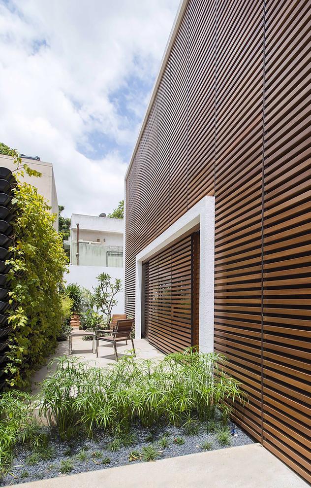 Indian Style Backyard Patio Design