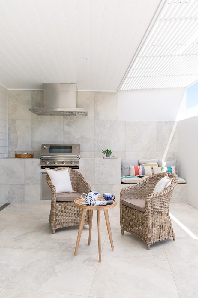 Beach Style Balcony Design