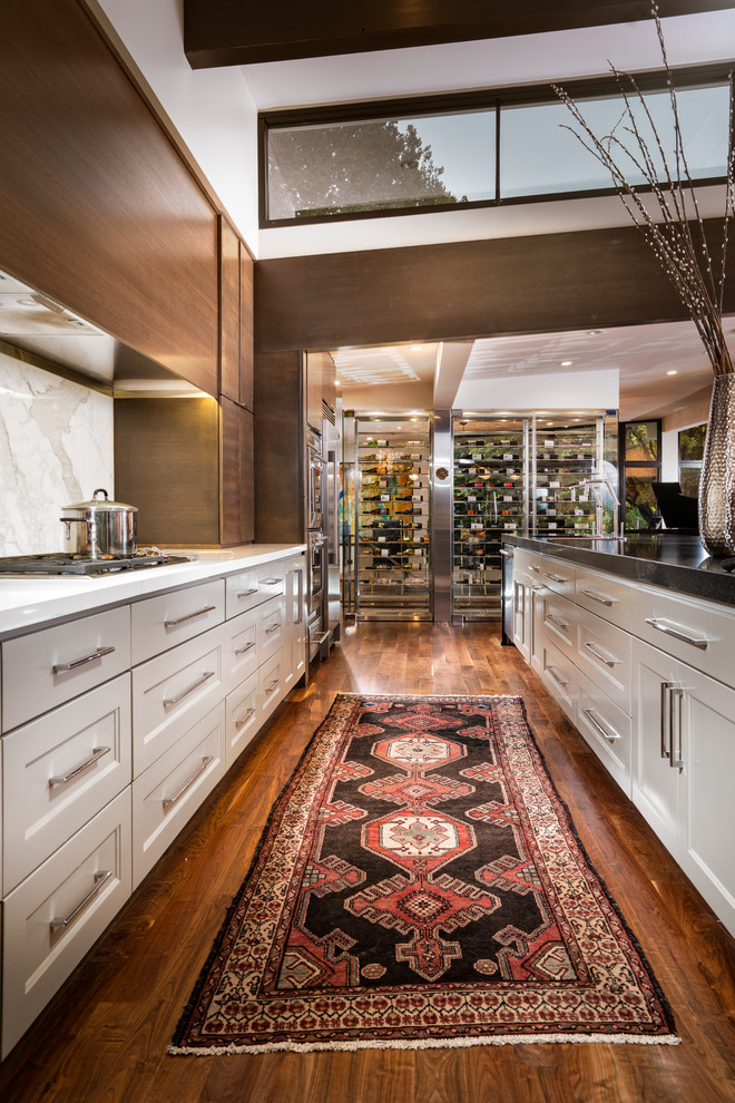Midcentury Kitchen Pantry Design