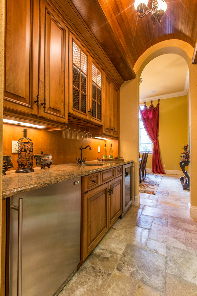 Southwestern Kitchen Pantry Design