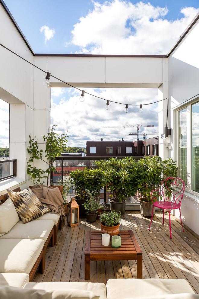 Tropical Balcony Design
