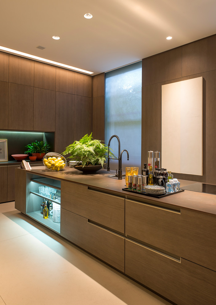 Modern Island Kitchen