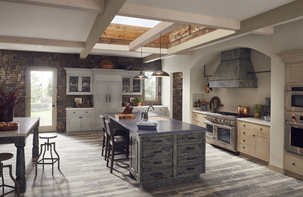 Modern Kitchen With Traditional Touch