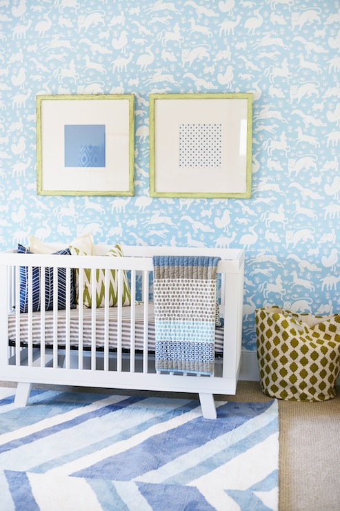 White Iron Crib