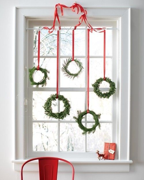 Christmas Window Decor Ideas