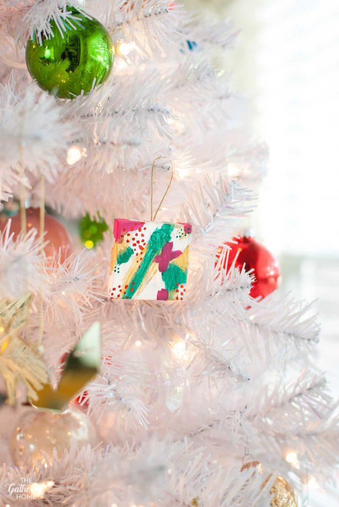 DIY Miniature Abstract Ornaments