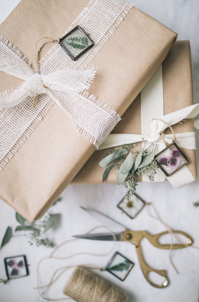 DIY Pressed Flower Ornaments