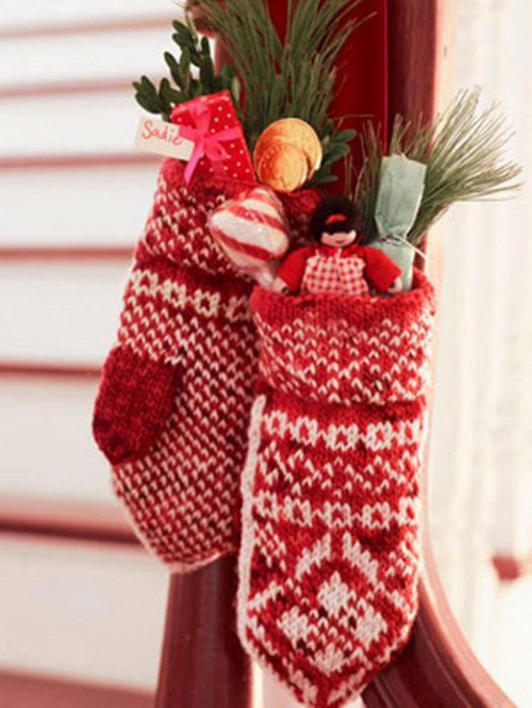 Mitten Christmas Crafts Decorations