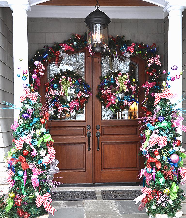 Outdoor Christmas Decoration Idea