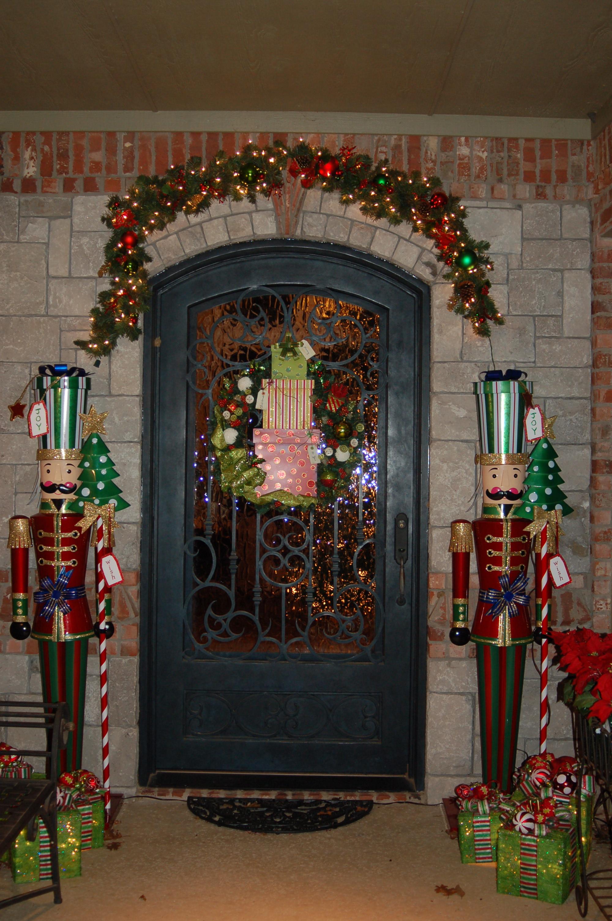 Pinterest Christmas Front Door Decor