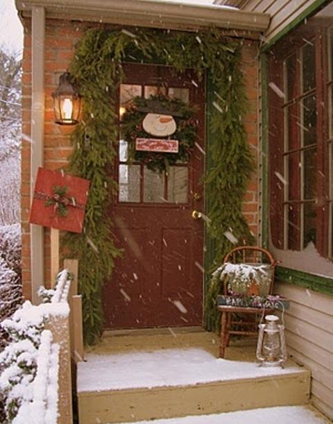 Front Porch Christmas Decors
