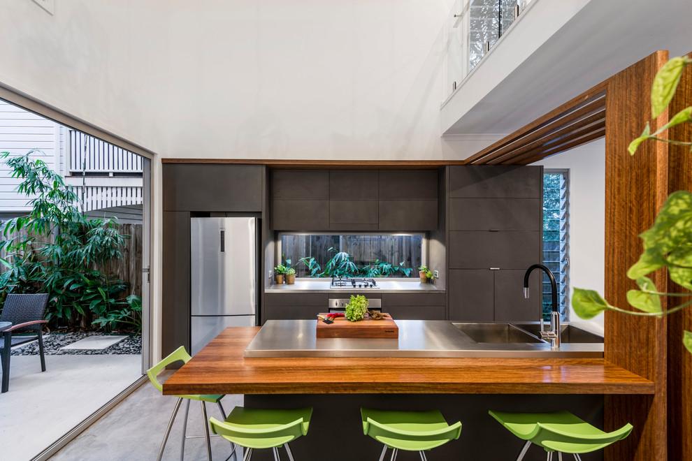 Modern Open Concept Kitchen