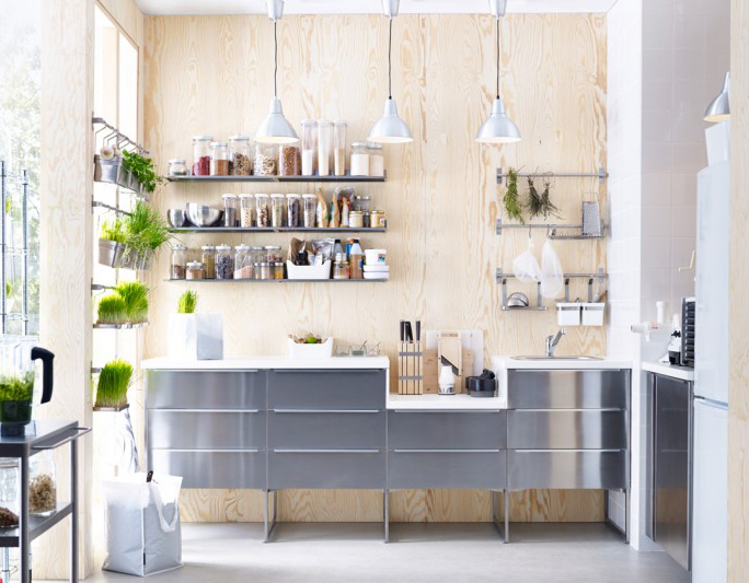 Modern, Sunny And Bright Kitchen