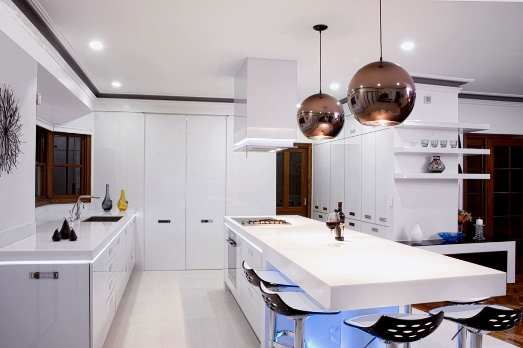 Contemporary Kitchen Awesome Contemporary Kitchen Lighting Ideas Modern Kitchen Lighting
