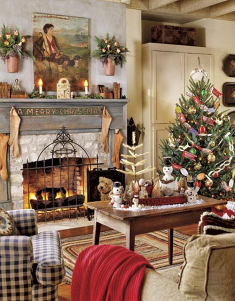 Christmas Living Room Decor Ideas (1)