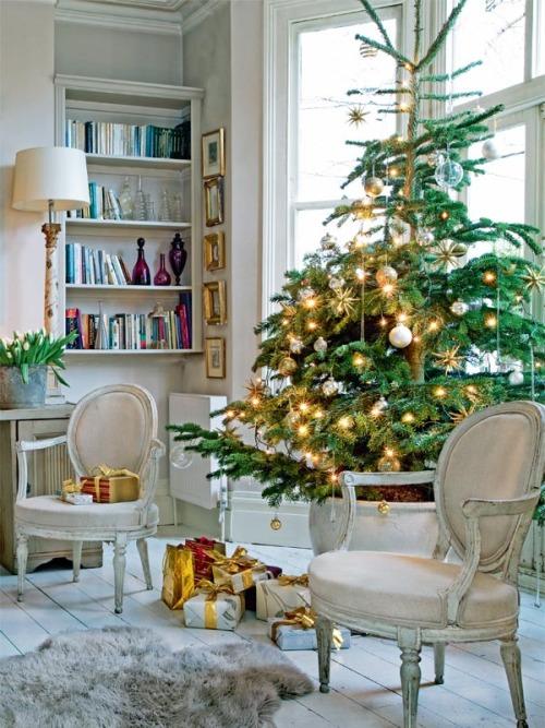 Christmas Living Room Decor Ideas (11)
