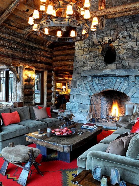 Christmas Living Room Decor Ideas (19)