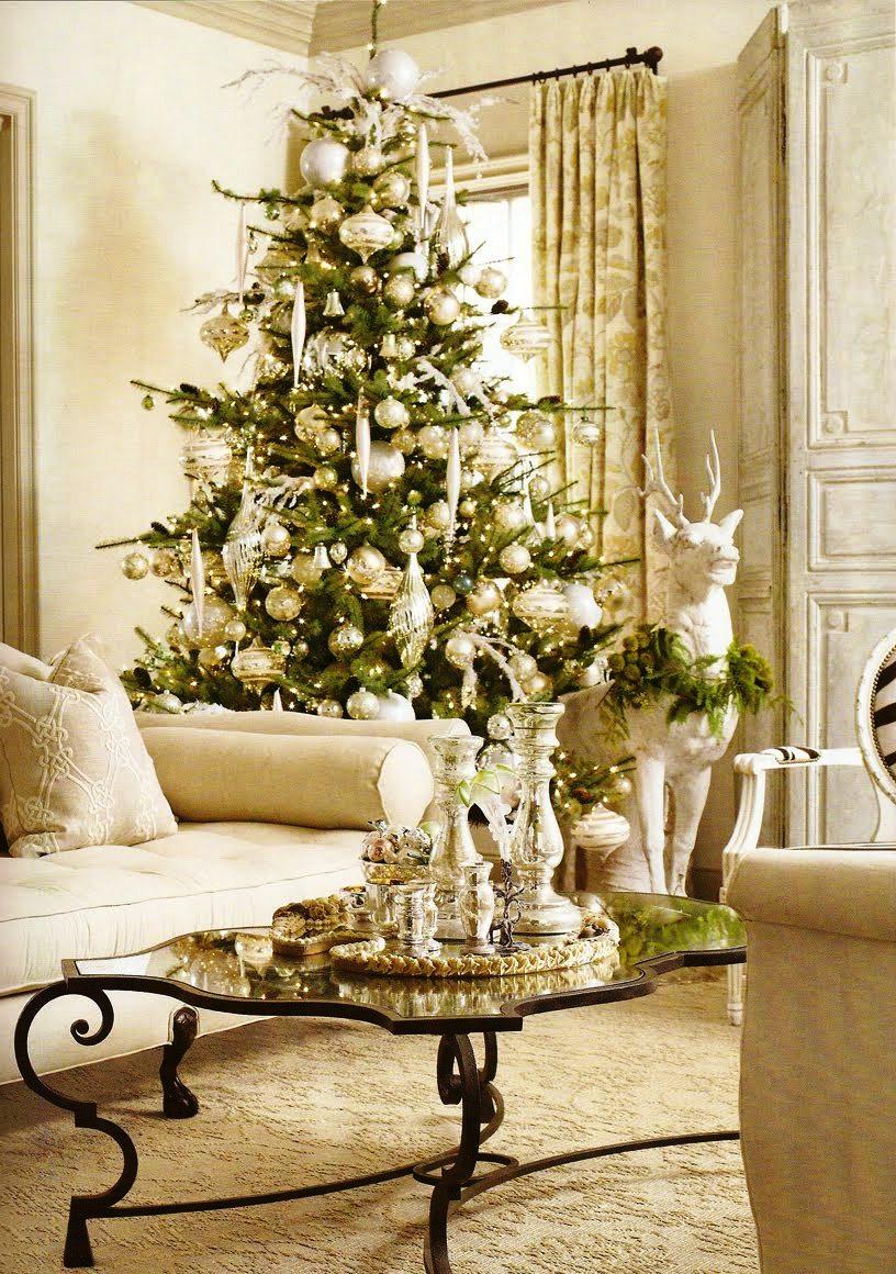 Christmas Living Room Decor Ideas (22)