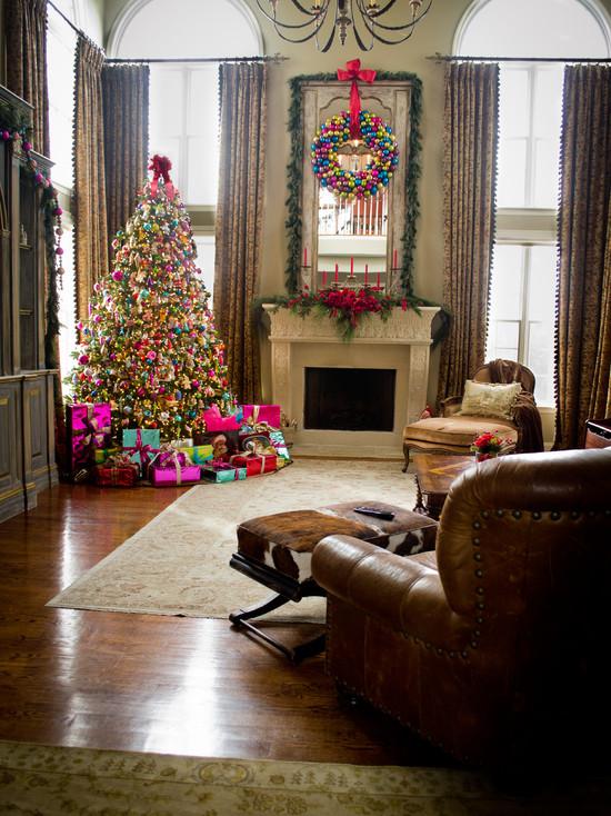 Christmas Living Room Decor Ideas (36)