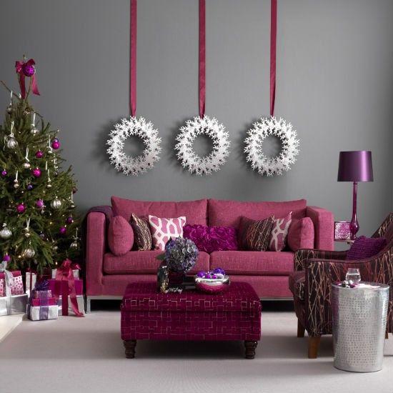 Christmas Living Room Decor Ideas (43)