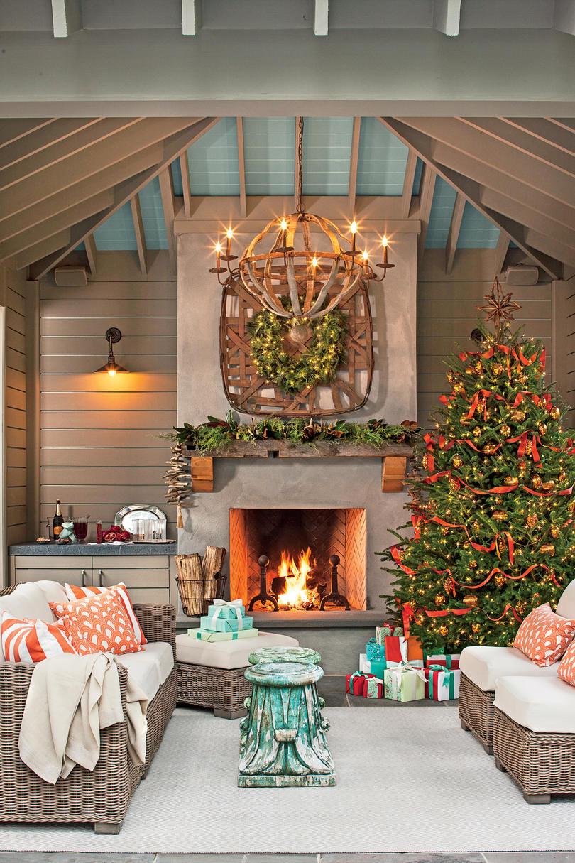 Christmas Living Room Decor Ideas (48)