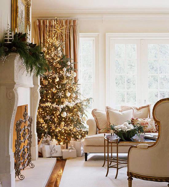 Christmas Living Room Decor Ideas (6)