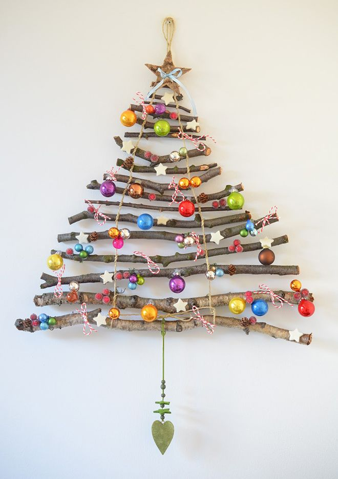 DIY Christmas Wall Art Ideas Thewowdecor (30)
