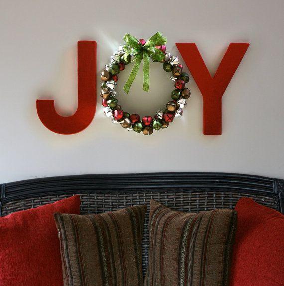 DIY Christmas Wall Art Ideas Thewowdecor (8)
