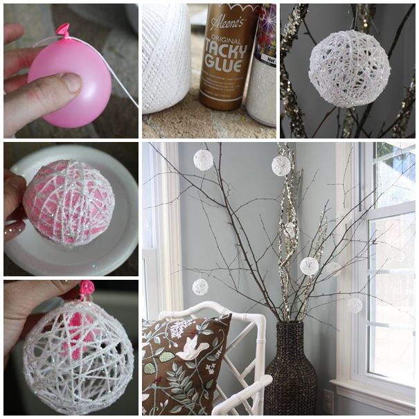 Sparkly Hanging Baubles Thewowdecor